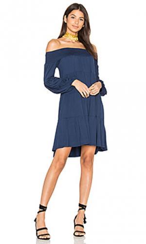Платье darline VAVA by Joy Han. Цвет: синий