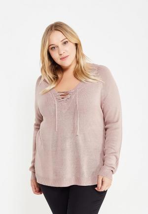 Пуловер Brave Soul. Цвет: розовый