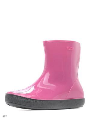 Резиновые сапоги ALIDA Nordman. Цвет: розовый