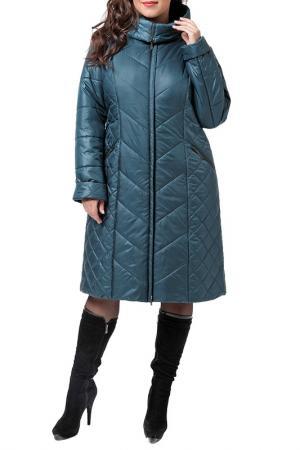Пальто DizzyWay. Цвет: малахитовый
