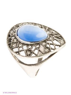 Кольцо Royal Diamond. Цвет: синий