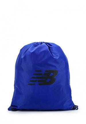 Мешок New Balance. Цвет: синий