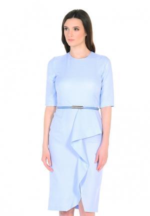 Платье Maison de la Robe. Цвет: голубой