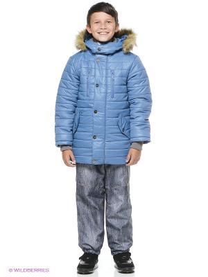 Куртка NIKASTYLE. Цвет: серо-голубой
