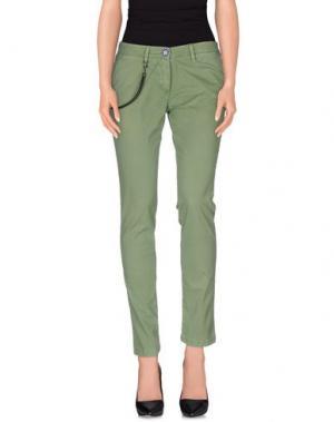 Повседневные брюки MODFITTERS. Цвет: зеленый-милитари