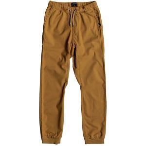 Штаны прямые  Wapu Pant Cathay Spice Quiksilver. Цвет: коричневый