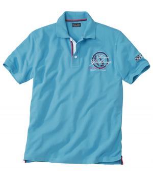 Поло Яхт-клуб AFM. Цвет: синии