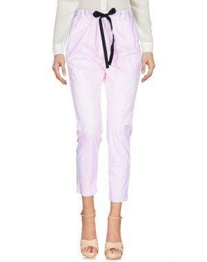 Повседневные брюки HOPPER. Цвет: розовый