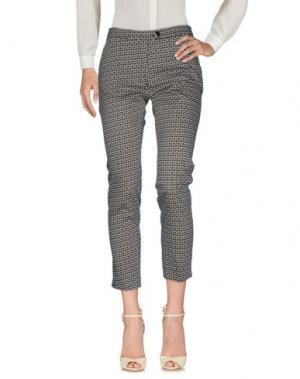 Повседневные брюки GAZEL. Цвет: черный