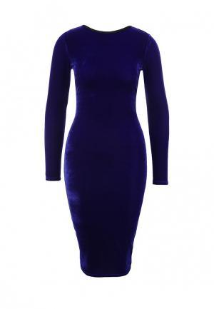 Платье LOST INK. Цвет: фиолетовый