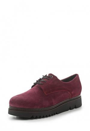 Ботинки HCS. Цвет: бордовый
