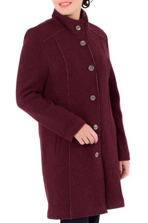 Пальто Woolhouse. Цвет: бордовый, коричневый