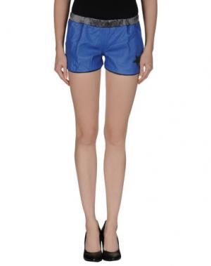 Повседневные шорты TRE CINQUE SETTE. Цвет: синий