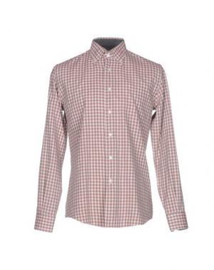 Pубашка FABIO MODIGLIANI. Цвет: пурпурный