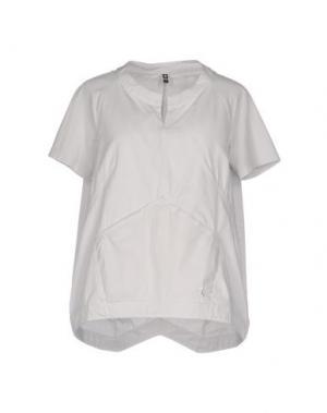 Блузка EUROPEAN CULTURE. Цвет: светло-серый
