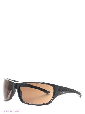 Солнцезащитные очки IS 11-090 22P Enni Marco. Цвет: темно-коричневый