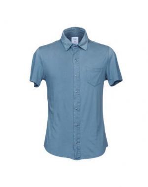 Pубашка WOOL & CO. Цвет: грифельно-синий