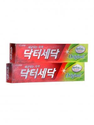 Зубная паста Dr. Sedoc с экстрактом масла чайного дерева, 170 г х 2шт Cj Lion. Цвет: красный