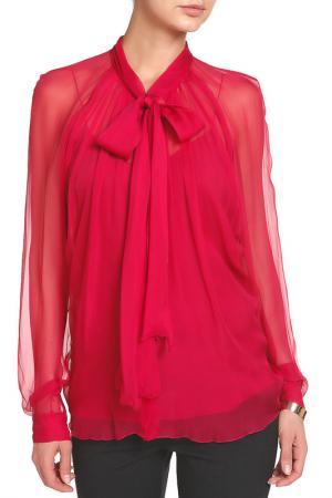 Блуза Alberta Ferretti. Цвет: розовый