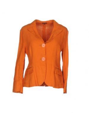 Пиджак MALÌPARMI. Цвет: желто-коричневый