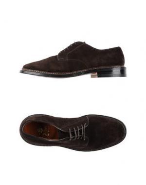 Обувь на шнурках ALDEN. Цвет: темно-коричневый