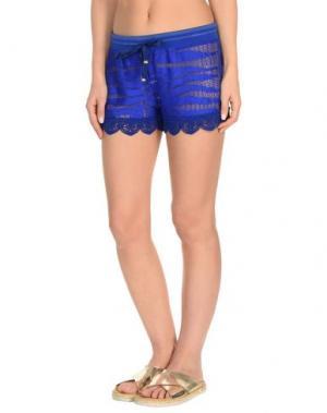 Пляжные брюки и шорты ROBERTO CAVALLI BEACHWEAR. Цвет: ярко-синий