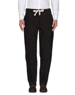 Повседневные брюки GARBSTORE. Цвет: темно-коричневый