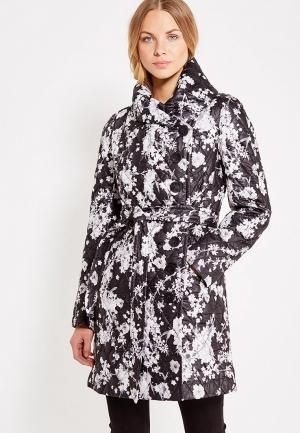 Куртка утепленная Brillare. Цвет: разноцветный