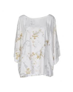 Блузка MONICA •LENDINEZ. Цвет: белый