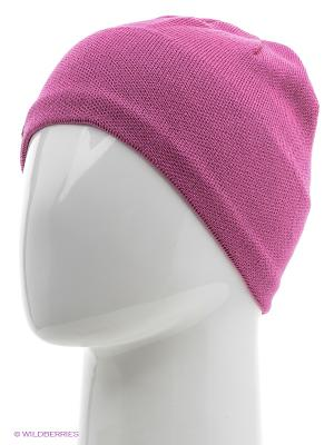 Шапка BUFF KNITTED HATS SOLID MAGENTA. Цвет: розовый