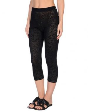 Пляжные брюки и шорты VDP COLLECTION. Цвет: черный