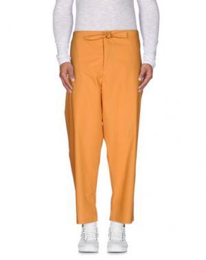 Повседневные брюки UMIT BENAN. Цвет: абрикосовый