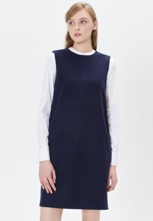 Платье Base Forms. Цвет: синий