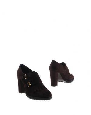 Ботинки BRUNO PREMI. Цвет: темно-коричневый