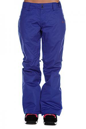 Штаны сноубордические женские  Fit Insulated Pants Freedom Blue Oakley. Цвет: синий