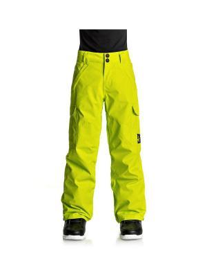 Брюки DC Shoes. Цвет: желтый, темно-синий, черный