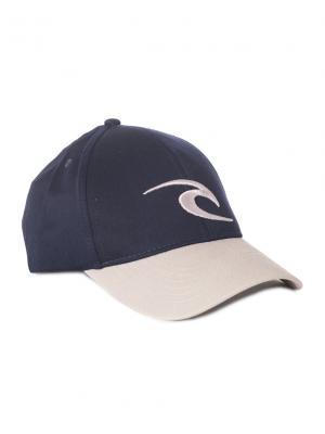 Кепка  ICON SNAPBACK CAP Rip Curl. Цвет: черный, светло-серый
