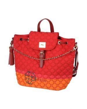 Рюкзаки и сумки на пояс V° 73. Цвет: красный