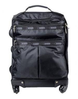 Чемодан/сумка на колесиках LESPORTSAC. Цвет: черный