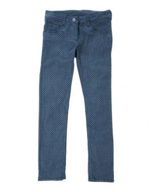 Повседневные брюки EDDIE PEN. Цвет: цвет морской волны