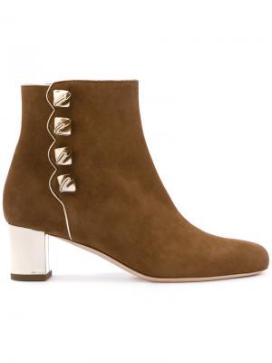Ботинки Tronchetto Malone Souliers. Цвет: коричневый