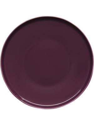 Тарелка Sagaform. Цвет: фиолетовый