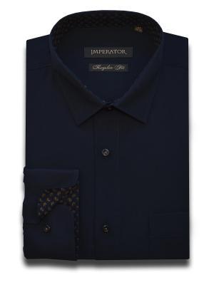 Рубашка Imperator. Цвет: темно-серый