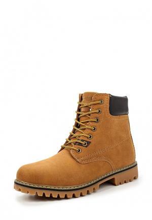 Ботинки Tony-p. Цвет: коричневый