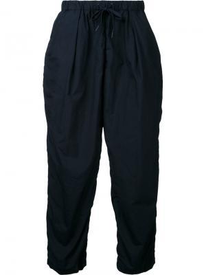 Спортивные брюки Teatora. Цвет: синий