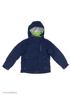 Куртка 3 в 1 High Experience. Цвет: темно-синий