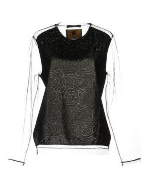 Блузка ANT PITAGORA. Цвет: черный