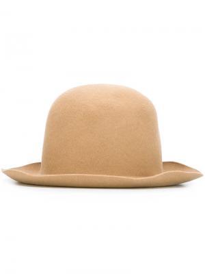 Шляпа By Reinhard Plank Nehera. Цвет: телесный