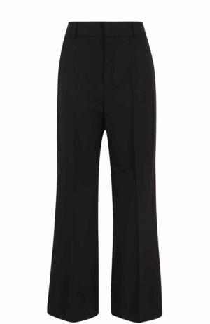Расклешенные брюки со стрелками Chloé. Цвет: черный