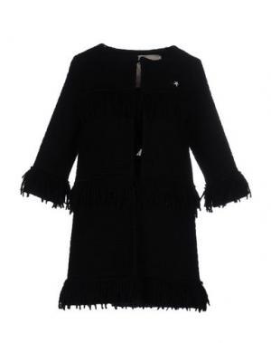 Легкое пальто SHIRTAPORTER. Цвет: черный